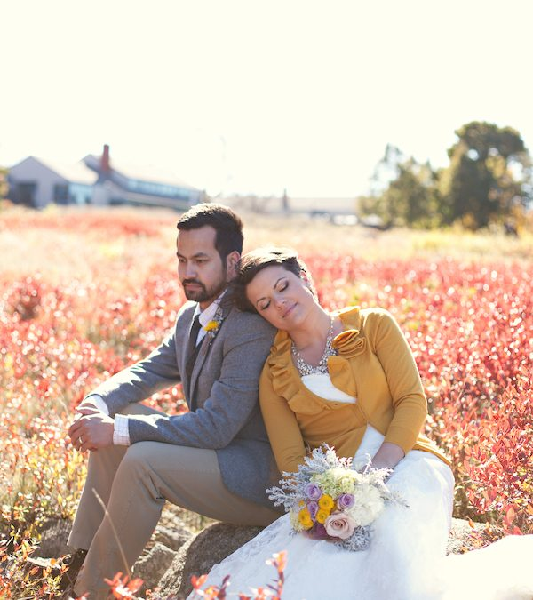 5 Things To Make Your Outdoor Fall Maine Wedding Cozy
