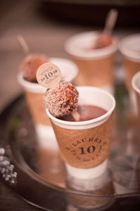 hot chocolate bar, warm drinks for weddings, hot chocolate for guests