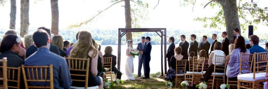 oceanside wedding ceremony